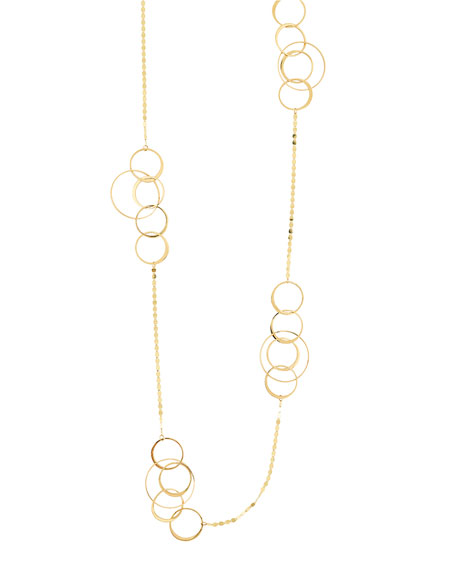 LANA Bond 14K Long Link Necklace, 36