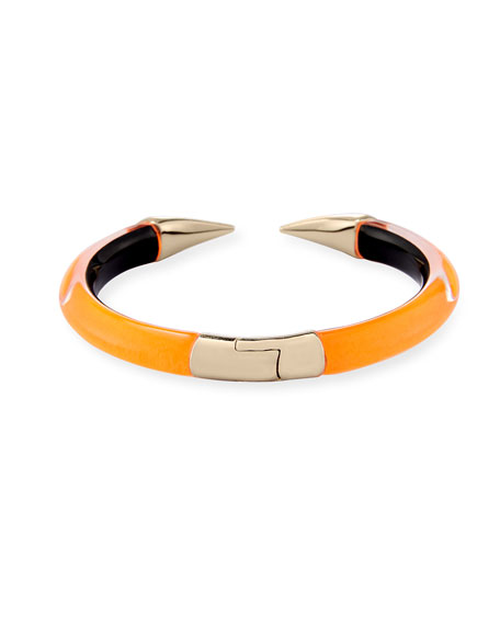 Mirror Break-Hinge Bracelet, Orange