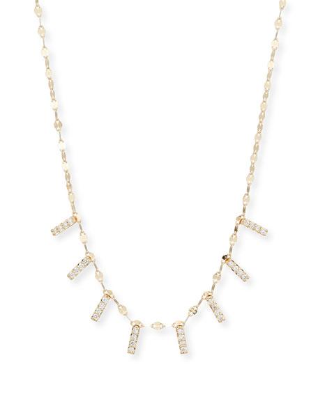 Flawless Mini Diamond Bar Necklace