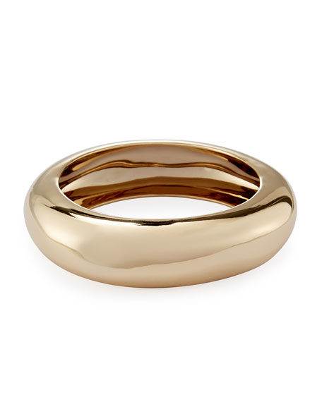 Alexis Bittar Small Watery Metal Bangle Bracelet