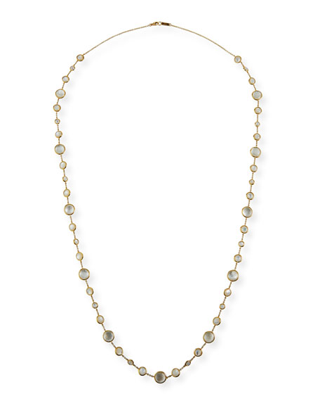 Ippolita 18K Lollipop Lollitini Long Necklace in Mother-of-Pearl Doublet & Mother-of-Pearl, 36