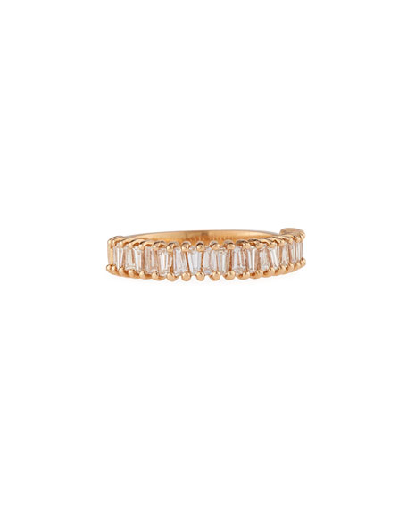 Dominique Cohen Multi Diamond Baguette Stacking Ring in
