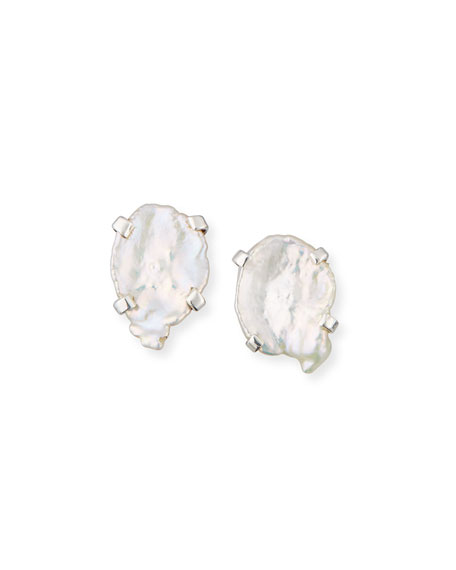 Stephen Dweck Mother-of-Pearl Stud Earrings