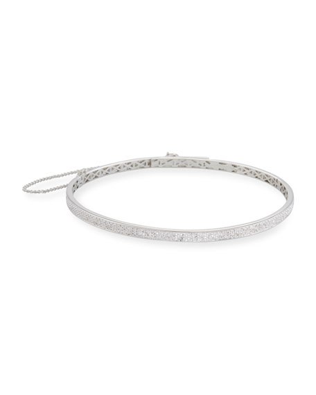 Eddie Borgo Pav?? Crystal Extra-Thin Choker Necklace