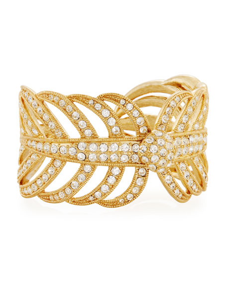 Lulu Frost Golden Drift Cuff Bracelet
