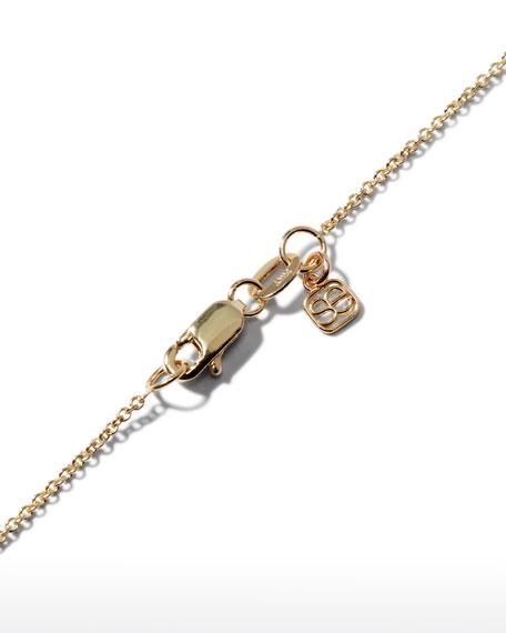 Diamond Initial Pendant Necklace