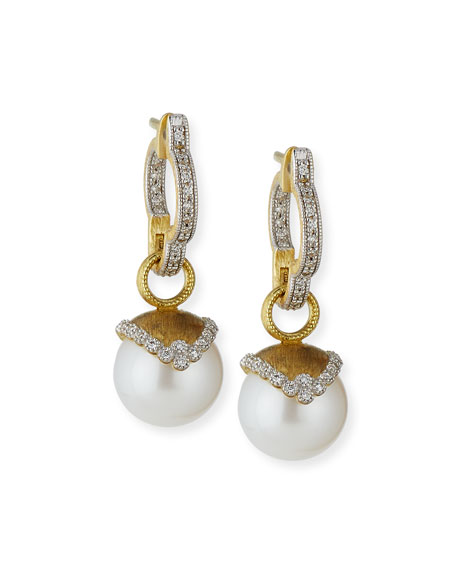 Provence Pearl & Diamond Earring Charms