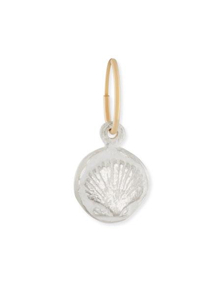 Marina Shell Coin Earring