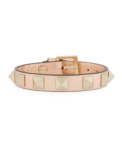 Napa Rockstud Leather Bracelet