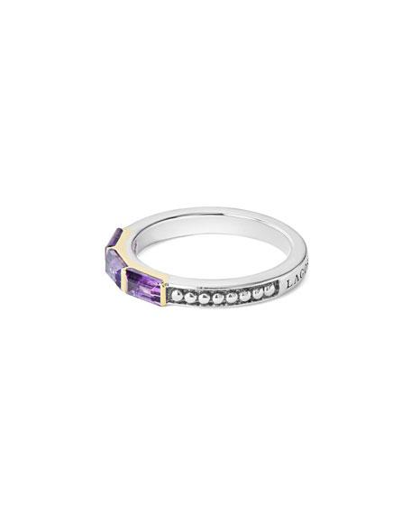 Three-Stone Stacking Ring