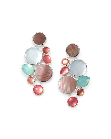 Ippolita Wonderland Multi-Stone Chandelier Earrings in Moroccan