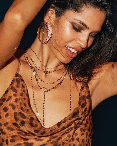 "LANA 14k Gold Kite Remix Necklace, 30""L"