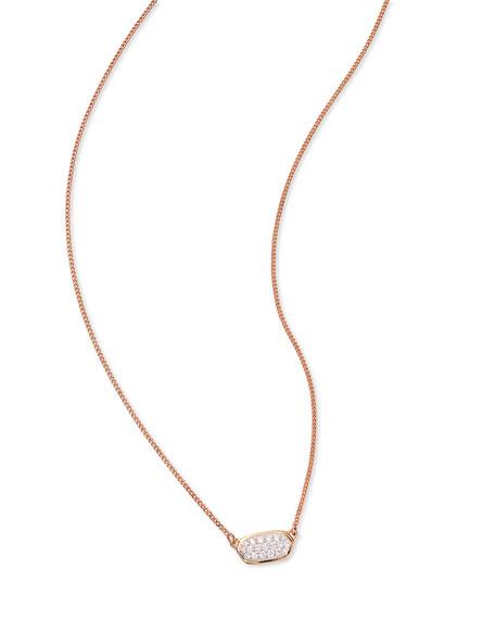 Kendra Scott Lisa 14k Gold Diamond Pendant Necklace