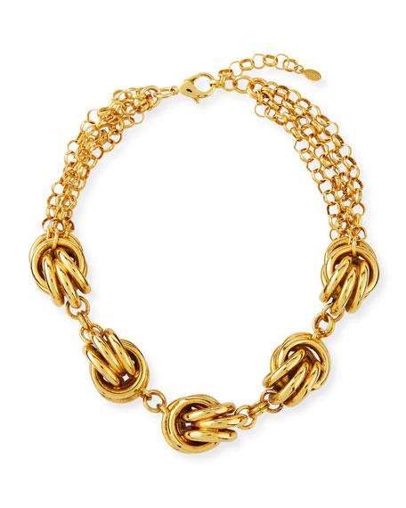 Short 5-Knot Necklace