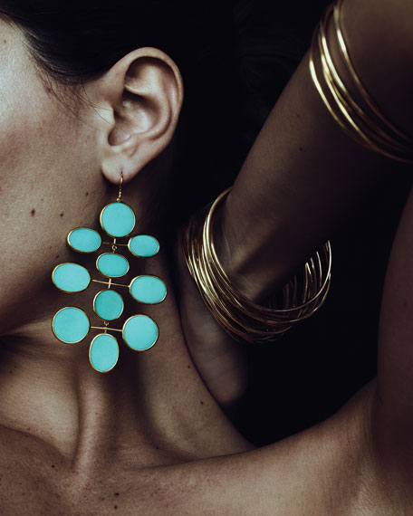 Ippolita 18K Polished Rock Candy Large Mobile Earrings