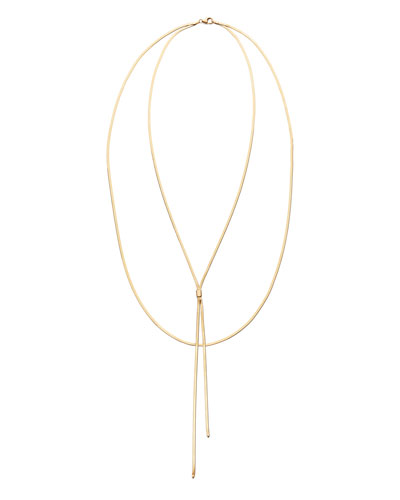 Liquid Gold Blake Necklace