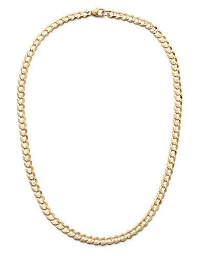 14k Gold Vegas Chain Choker Necklace