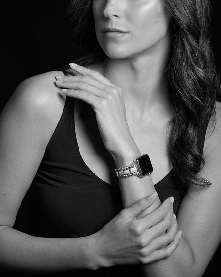 LAGOS Smart Caviar 38mm Watch Bracelet, Medium