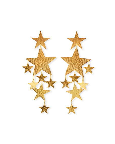 We Dream in Colour Constellation Star Dangle Earrings
