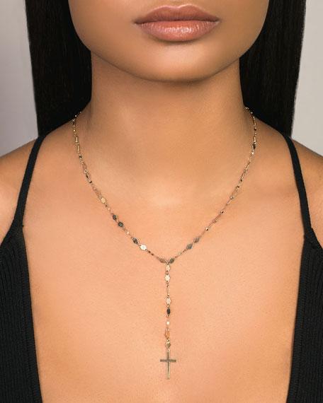 LANA 14k Kite Blake Crossary Necklace