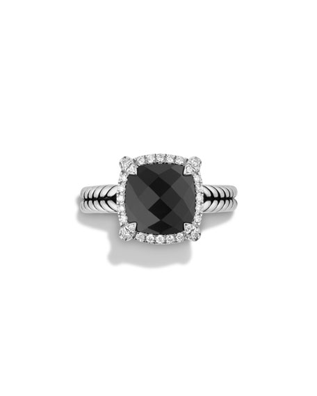 Image 3 of 3: 9mm Châtelaine Ring with Diamonds