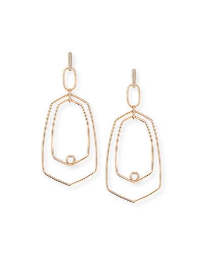 Tra Geometric Drop Earrings