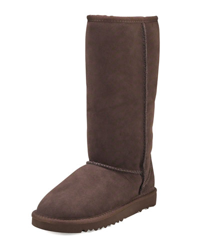 UGG Australia Classic Tall Boot, Chocolate, Youth