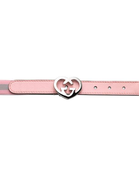 Adjustable Belt with Double G Buckle