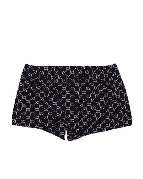 Mini GG-Print Swim Boyshorts