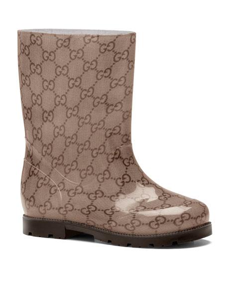 GG Rain Boot, Ebony, Youth