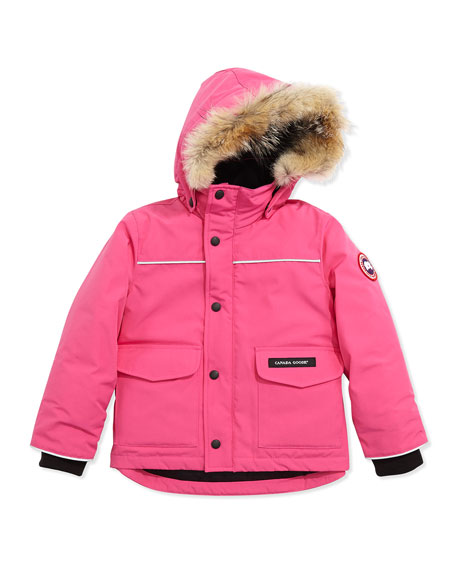 Canada Goose coats outlet 2016 - Canada Goose Kids' Lynx Parka, Summit Pink, Sizes 2-7