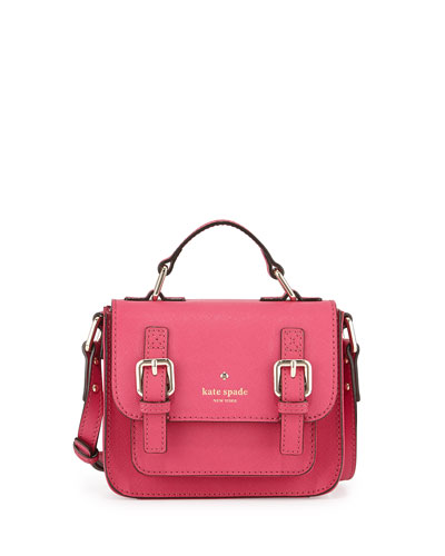 scout girls' saffiano crossbody bag, sweet heart pink