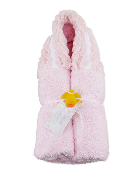 Swankie Blankie Ziggy Hooded Towel, Pink