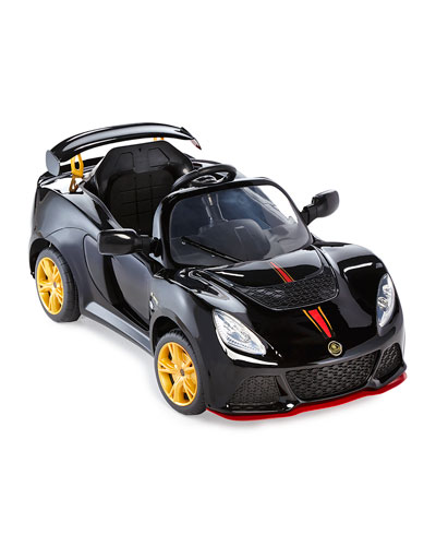 Kids' Electric Lotus Convertible, Black