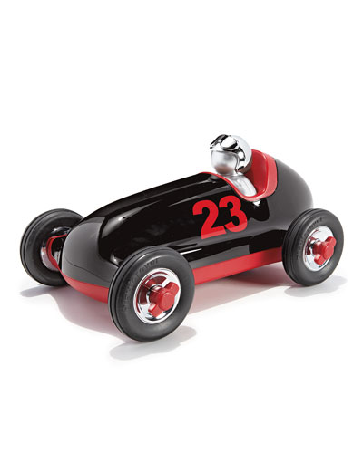 Bruno Push Car, Black/Red