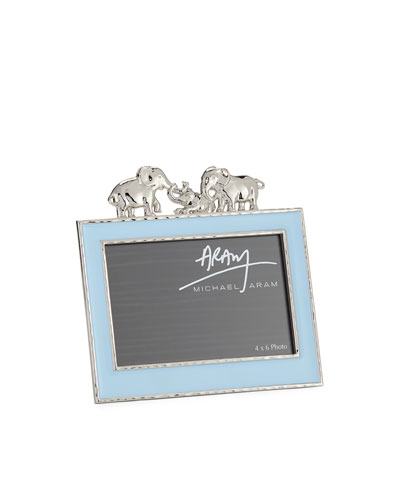 Boys' Elephant 4 x 6 Picture Frame  Blue