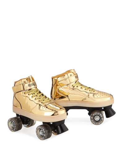 Kids' Pulse Light-Up Skates  Gold