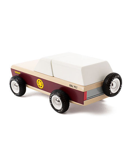 Candylab Toys Lone Sheriff Police Car Toy