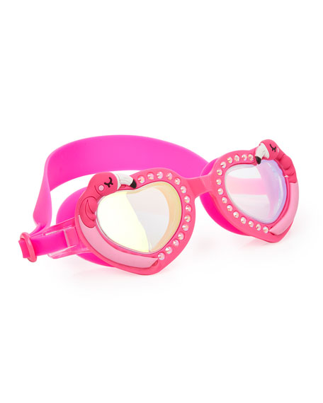 Bling2o Kids' Flock of Fab Flamingo Swim Goggles