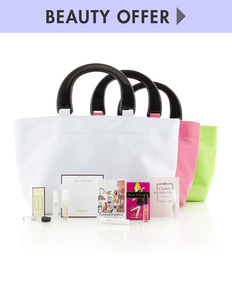 Spring Scent Event Tote, Yours with any $85 beauty purchase.