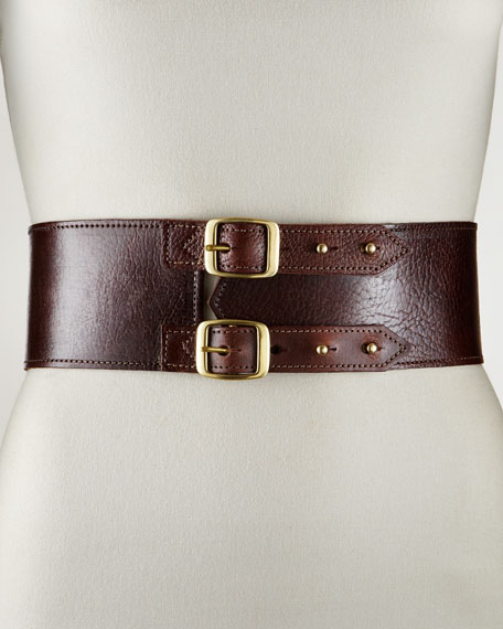 Double-Buckle Belt, Medium