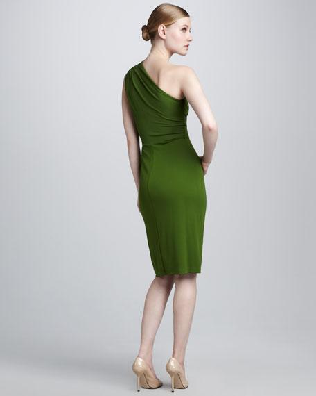 Stretch Matte Jersey Dress