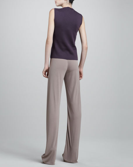 Crepe Jersey Pajama Pant