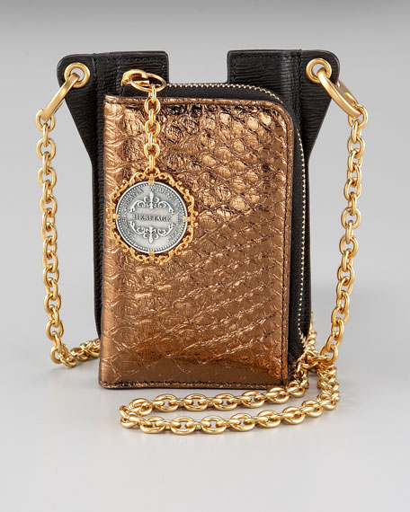 iPhone Chain-Strap Wallet