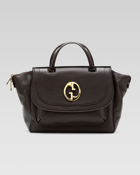 Gucci 1973 Medium Top Handle Bag