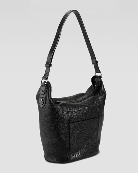 Crosby Bucket Bag, Black