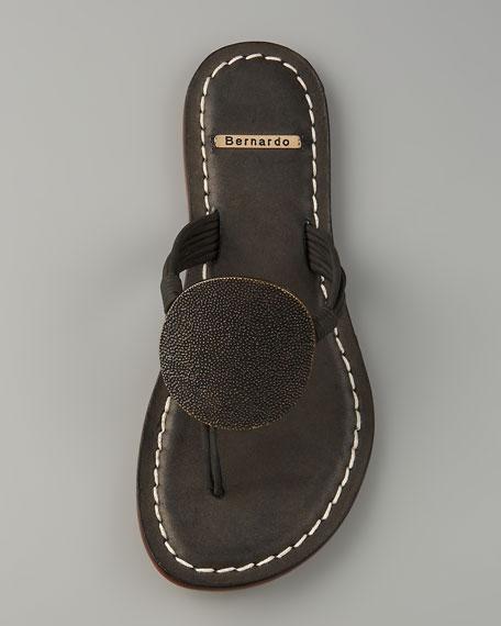 Mardi Circle Thong Sandal