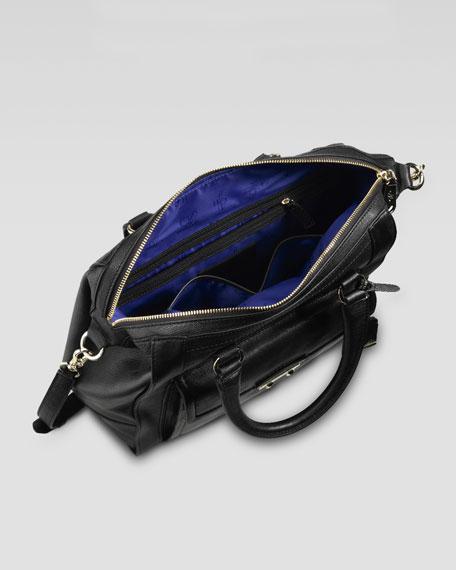 Zoe Structured Satchel Bag