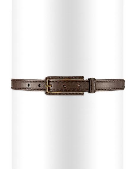 Prada Vitello Shine Dress Belt