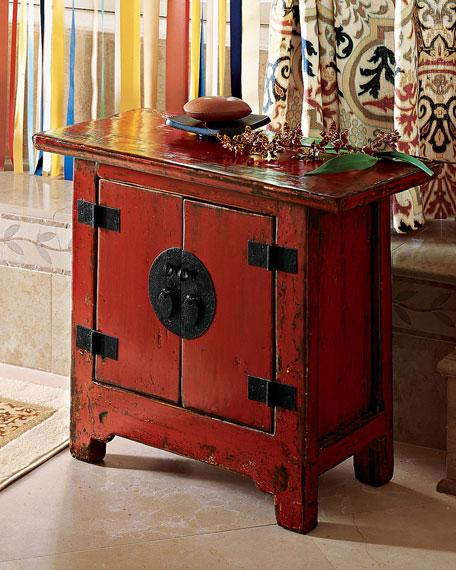 Antique Side Cabinet